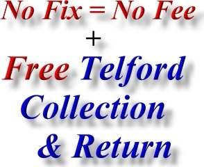 No Fix No Fee and Best Telford Computer Repair Phone