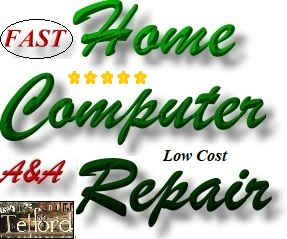 Best, Fast Telford Home Computer Repair Install