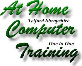 Telford Computer Lessons, Home Personal Computer Training
