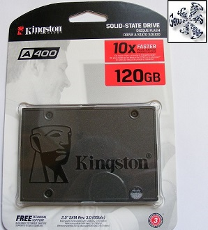 Telford Laptop Kingston Solid State Drive Installation