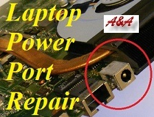 Telford Dell Laptop Power Socket Repair