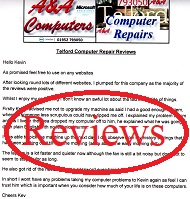 A&A Telford Computer Repair Reviews
