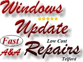 Windows Update Repairs - Computer Update Fix in Telford